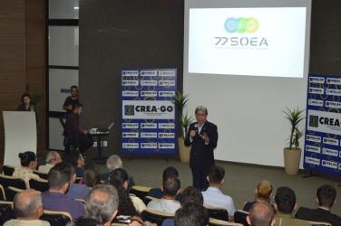 [noticia: 63-novas-carteiras-profissionais-sao-entregues-em-goiania] Francisco Almeida dá as boas-vindas aos novos profissionais do Sistema Confea/Crea em Goiás - FRANCISCO ALMEIDA.JPG