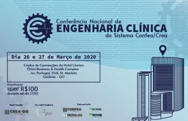 [noticia: goiania-sedia-conferencia-nacional-de-engenharia-clinica] - Divulgação Conferência Nacional de Engenharia Clínica.jpg