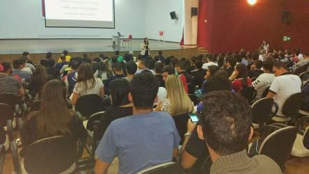 [noticia: crea-impactou-mais-de-32-mil-academicos-em-goias] De 2015 a 2019, 32.206 acadêmicos foram impactados em 627 palestras realizadas em todo o Estado (Foto: Assessoria Institucional do Jovem Profissional) - PALESTRAS INSTITUCIONAIS 2.jpg
