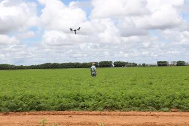 [noticia: aberta-consulta-publica-sobre-uso-de-drones-na-agropecuaria] Os drones têm ocupado cada vez mais espaço na agricultura e na pecuária (Foto: Banco de imagens do Confea) - DRONE - AGRONOMIA - BANCO DE IMAGENS DO CONFEA.jpg