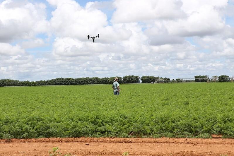 [noticia: aberta-consulta-publica-sobre-uso-de-drones-na-agropecuaria] Os drones têm ocupado cada vez mais espaço na agricultura e na pecuária (Foto: Banco de imagens do Confea) - 01.jpg