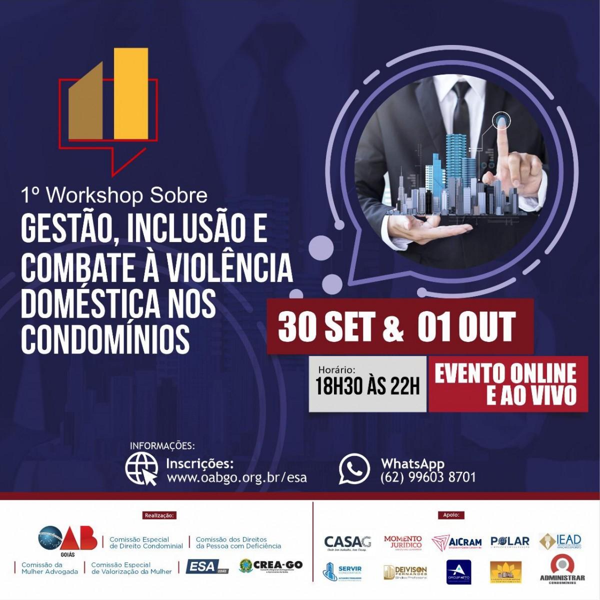 [noticia: conselheiros-do-crea-go-participam-de-workshop-sobre-direito-condominial] - CREA E OAB.jpeg