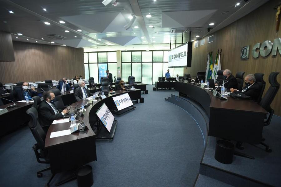 [noticia: plenario-do-confea-homologa-resultado-das-eleicoes-gerais-2020] Resultado das eleições 2020 foi homologado pelo plenário do Confea em sessão extraordinária - PLENARIO DO CONFEA HOMOLOGAÇÃO ELEIÇÕES 2020.jpg