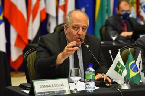 [noticia: confea-buscara-audiencia-com-o-ministerio-da-educacao] Vice-presidente do Confea, Osmar Barros Júnior também defende a aproximação com outras instituições - OSMAR BARROS.jpeg