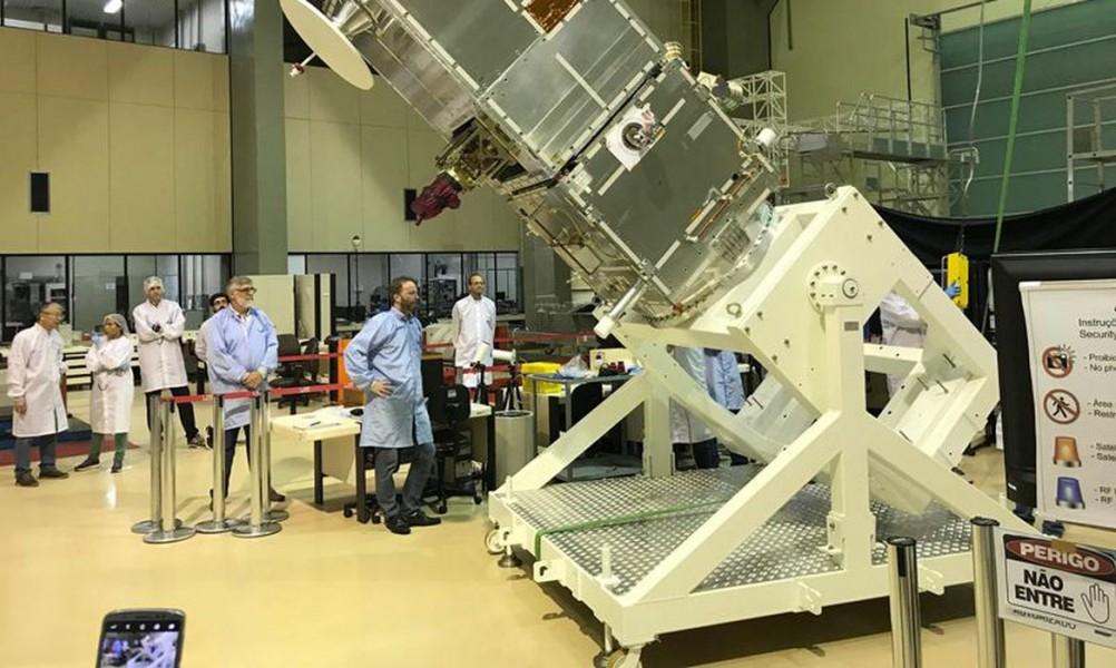 [noticia: primeiro-satelite-100-brasileiro-sera-lancado-no-fim-de-fevereiro] Dados obtidos na missão serão compartilhados com comunidade científica (Foto: Inpe/Divulgação) - 69.jpg