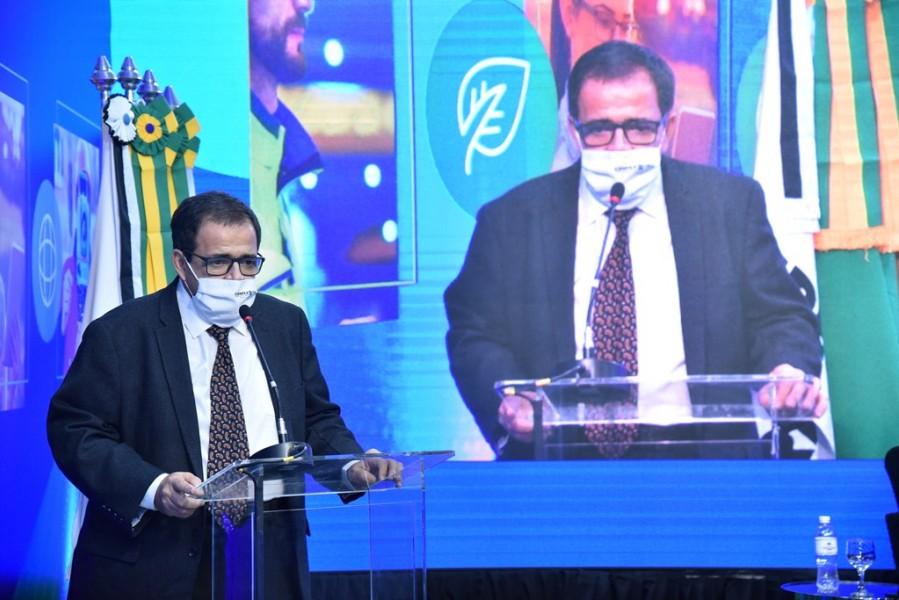 [noticia: soea-connect-inaugura-fase-digital-e-inclusiva] O pioneirismo da Soea Connect também foi reconhecido pelo coordenador do Contecc, conselheiro federal Jorge Luiz Bitencourt - SOEA CONNECT - ENCERRAMENTO 05.JPG