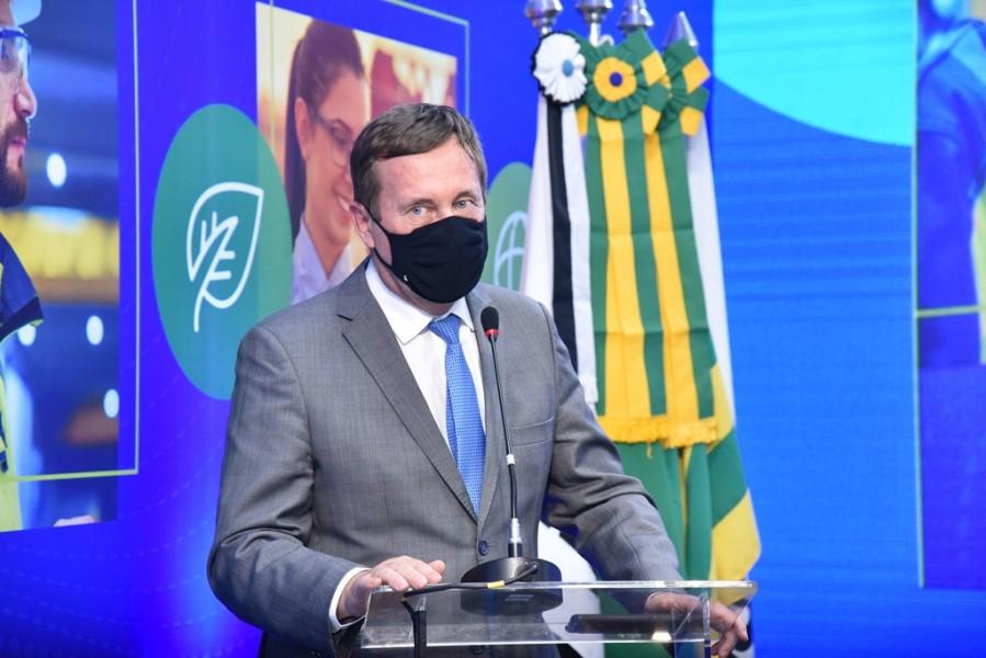 [noticia: soea-connect-inaugura-fase-digital-e-inclusiva] Presidente do Confea, Joel Krüger fez um balanço dos três dias transformadores para as Engenharias, a Agronomia e as Geociências do país - SOEA CONNECT - ENCERRAMENTO 03.JPG