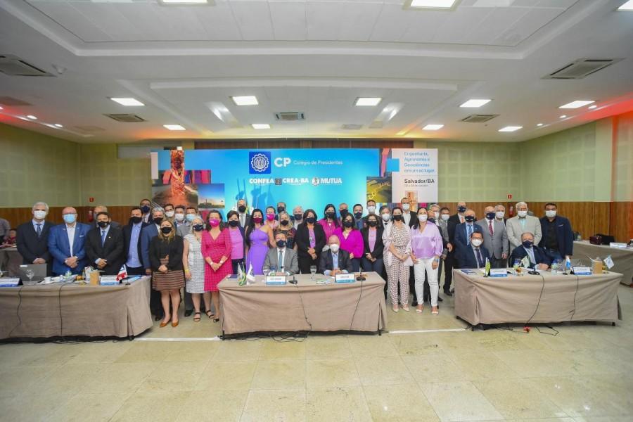 [noticia: salvador-recebe-colegio-de-presidentes] Participantes e convidados da reunião do CP em Salvador - CP_DIA01_05.jpg