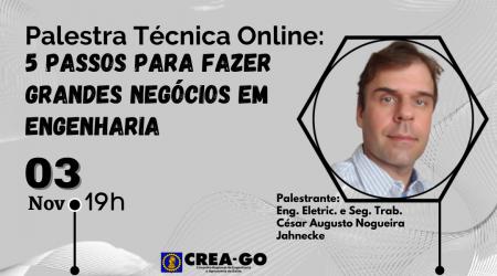 [noticia: palestra-online-discute-grandes-negocios-na-engenharia]  - Arte para Notícias do Site do Crea-GO 1080x600.png